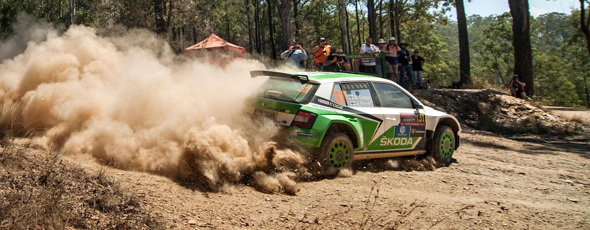 VIDEO: ŠKODA Motorsport at the Rally Australia 2016