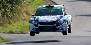 Cédric Cherain / Renaud Herman, ŠKODA FABIA R5. East Belgian Rally 2016 (Photo: BRC Media)