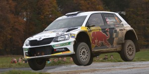 Raimund Baumschlager / Thomas Zeltner, ŠKODA FABIA R5, BRR Baumschlager Rallye & Racing Team. Int. Rally Waldviertel 2015 (Photo: BRR / Harald Illmer)