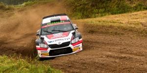 Nicolás Fuchs / Fernando Mussano, ŠKODA FABIA R5. Rajd Polski - Rally Poland 2016