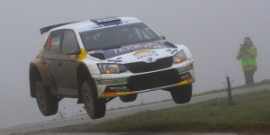 Raimund Baumschlager / Thomas Zeltner, ŠKODA FABIA R5, BRR Baumschlager Rallye & Racing Team. Int. Rally Waldviertel 2016 (Photo: Harald Illmer)