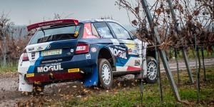 Jan Černý / Petr Černohorský jun., ŠKODA FABIA R5, Mogul Czech National Team. Int. Rally Waldviertel 2016 (Photo: Tomáš Kaňa)