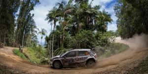 Khalid Mohammad Al-Suwaidi / Marshall Clarke, ŠKODA FABIA R5, Culture & Sport Qatar Rally Team. Kennards Hire Rally Australia 2016