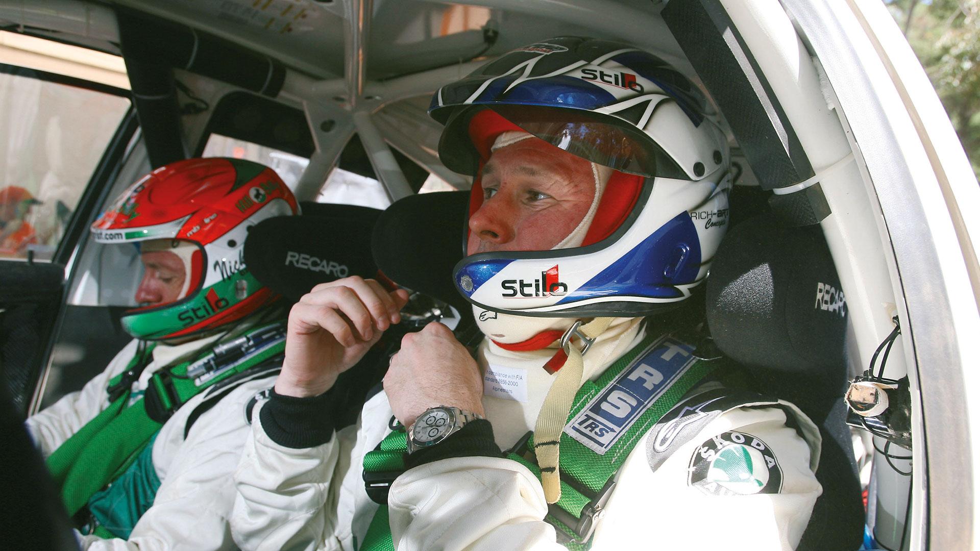 Colin McRae a jeho labutí píseň za volantem vozu ŠKODA FABIA WRC