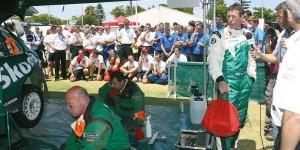 Colin McRae, ŠKODA FABIA WRC, ŠKODA Motorsport. Telstra Rally Australia 2005