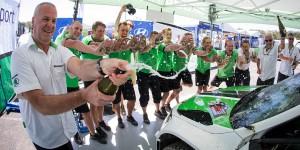 ŠKODA Motorsport Team, Kennards Hire Rally Australia 2016