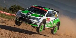 Pontus Tidemand / Jonas Andersson, ŠKODA FABIA R5, ŠKODA Motorsport. Vodafone Rally de Portugal 2016