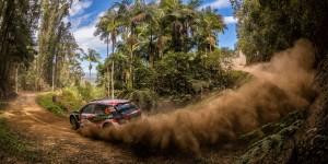 Nicolás Fuchs / Fernando Mussano, ŠKODA FABIA R5. Kennards Hire Rally Australia 2016