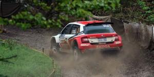 Fabian Kreim / Frank Christian, ŠKODA FABIA R5, Team MRF. Rally Hokkaido APRC 2016