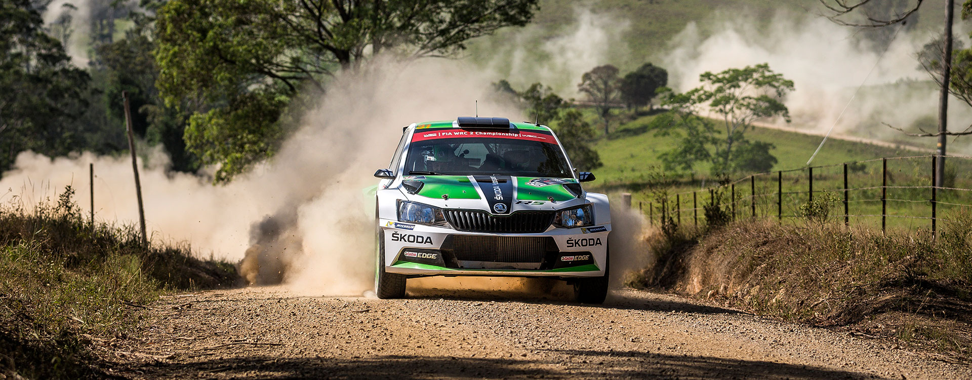 VIDEO: ŠKODA FABIA R5 in the WRC2 2016