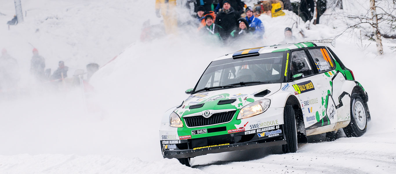 From the Archives: ŠKODA FABIA S2000s shone at the Rally Sweden 2012