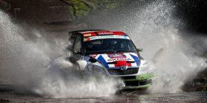 Andreas Mikkelsen / Ola Fløene, ŠKODA FABIA S2000, ŠKODA UK. Rallye Açores 2012