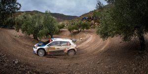 Teemu Suninen / Mikko Markkula, ŠKODA FABIA R5, Team Oreca. RallyRACC Catalunya - Costa Daurada 2016