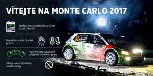 Charakteristika Rallye Automobile de Monte-Carlo 2017