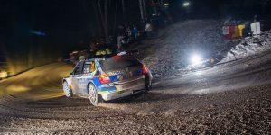 Julien Maurin / Benjamin Veillas, ŠKODA FABIA R5. Rallye Automobile de Monte-Carlo 2016