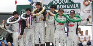 Andreas Mikkelsen / Ola Fløene, ŠKODA FABIA S2000. Rally Bohemia 2009