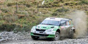 Andreas Mikkelsen / Ola Fløene, ŠKODA FABIA S2000. Rally of Great Britain 2010