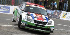 Andreas Mikkelsen / Ola Fløene, ŠKODA FABIA S2000, ŠKODA UK. Rally Islas Canarias - El Corte Inglés 2012