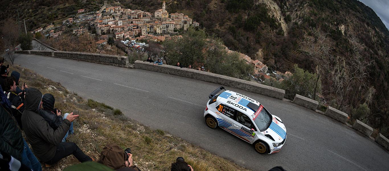 FOTO: ŠKODA Motorsport na Rallye Monte Carlo 2017