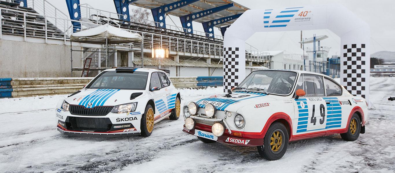 VIDEO: Neobvyklý trénink na Rallye Monte Carlo