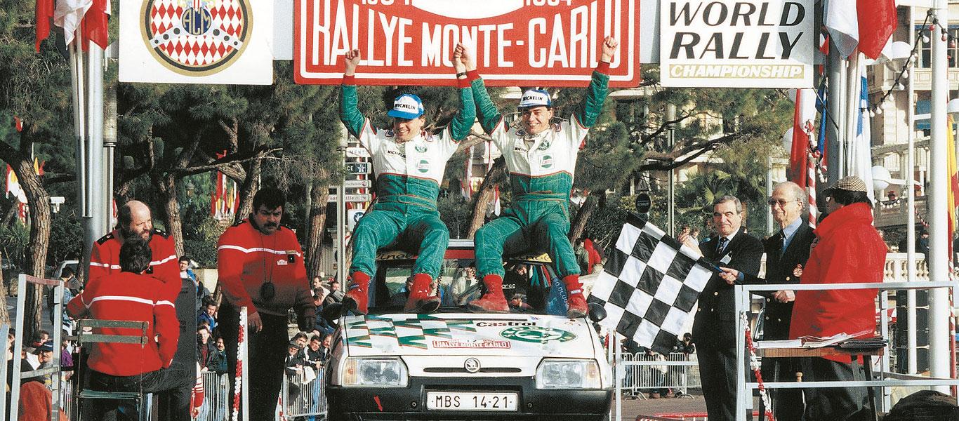 Nová výstava ve ŠKODA Muzeu: Úspěchy vozů ŠKODA na Rallye Monte Carlo