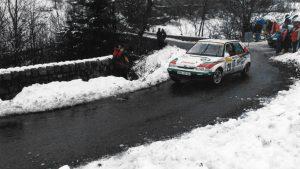 Emil Triner / Julius Gál, ŠKODA FELICIA Kit Car, ŠKODA Motorsport. Rallye Automobile de Monte-Carlo 1997