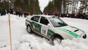 Jukka Ketomäki / Kai Risberg, ŠKODA OCTAVIA WRC. SM Pohjanmaa Ralli 2015 (Photo: Aake Kinnunen)