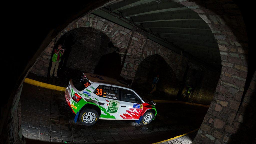 Armin Kremer / Pirmin Winklhofer, ŠKODA FABIA R5, BRR Baumschlager Rallye & Racing Team. Rally Guanajuato Mexico 2016
