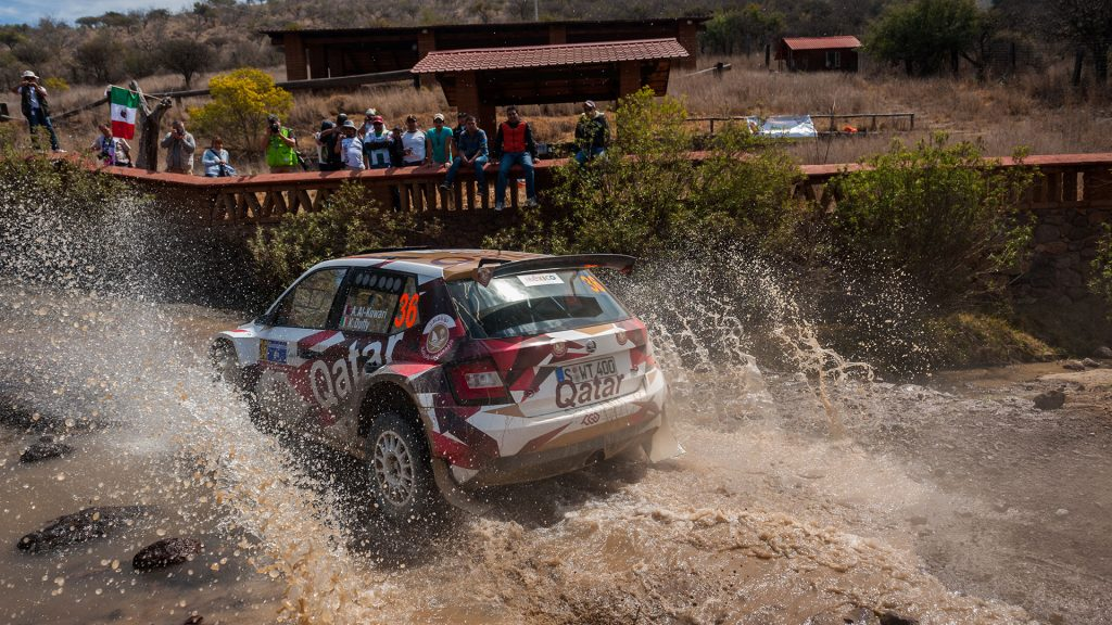Abdulaziz Al-Kuwari / Killian Duffy, ŠKODA FABIA R5, Culture & Sport Qatar Rally Team. Rally Guanajuato Mexico 2016