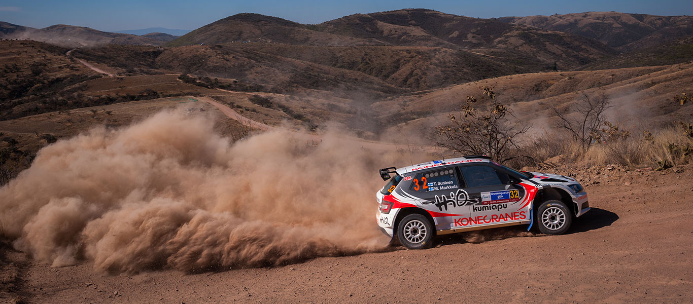 WRC Mexico: Breathtaking battle in Mexican mountains