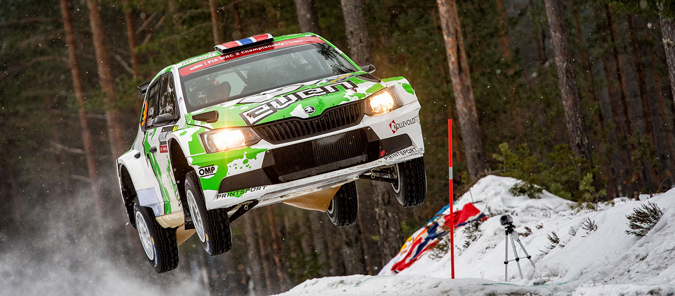 PHOTO: ŠKODA Customer Teams at the Rally Sweden 2017