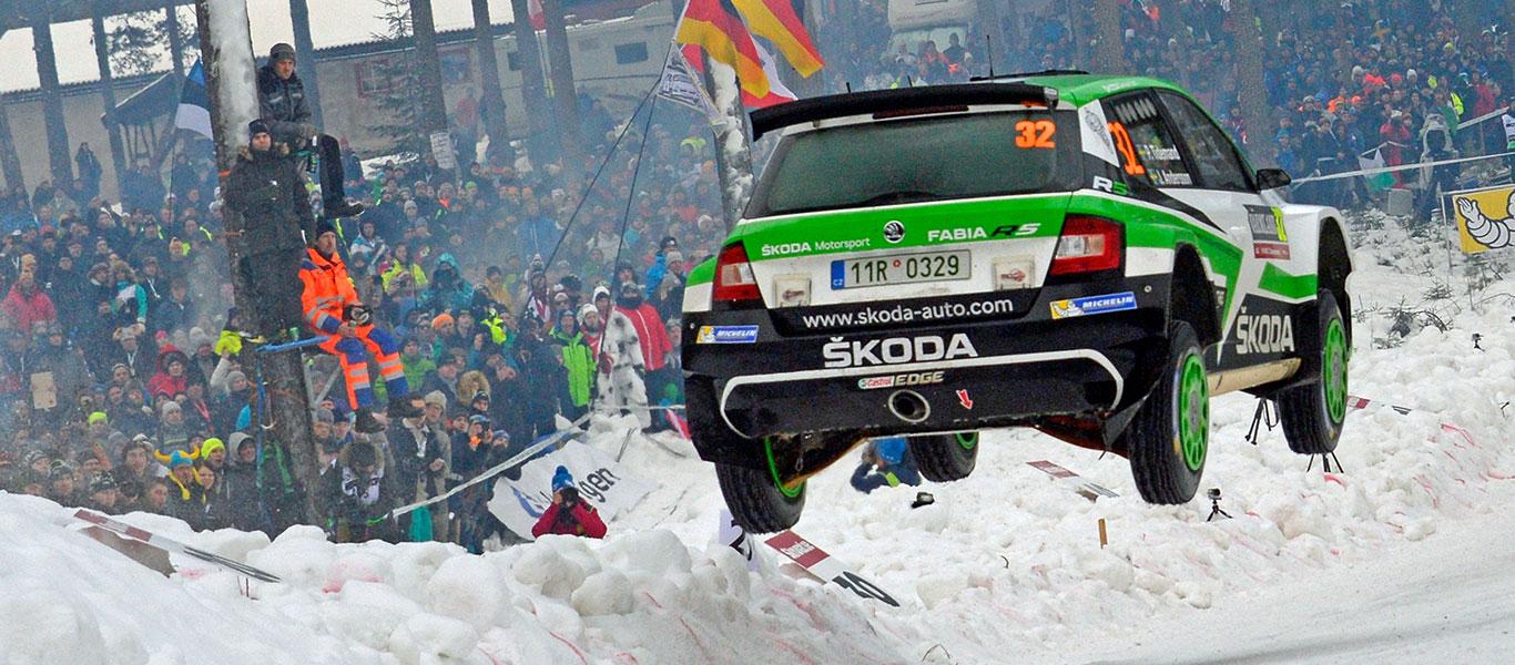 WRC Švédsko: Pontus Tidemand zvyšuje svůj náskok
