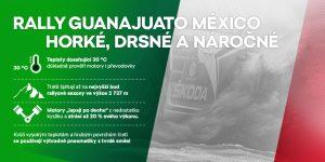 Charakteristika Rally Guanajuato Mexico 2017