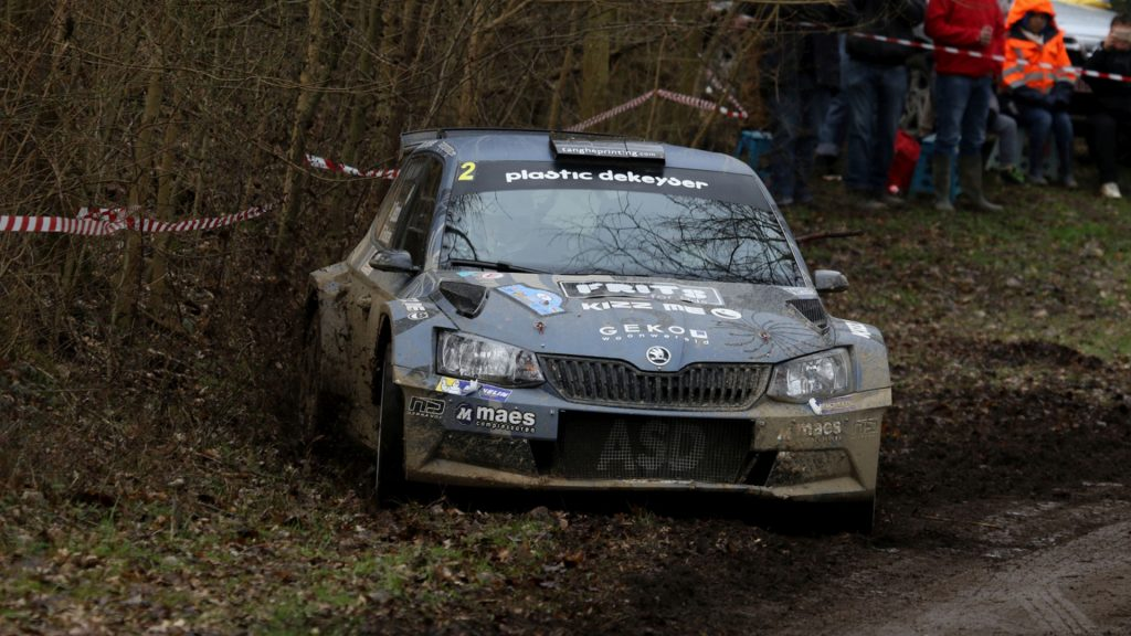 Melissa Debackere / Didier Bostoen, ŠKODA FABIA R5, Duindistel. Rally van Haspengouw 2017 (Photo: BRC Media)