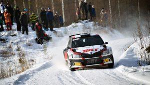 Nikolay Gryazin / Yaroslav Fedorov, ŠKODA FABIA R5, Sports Racing Technologies. Vaakuna Ralli 2017