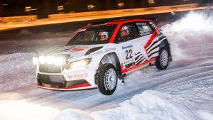 Mikko Lehessaari / Reeta Hämäläinen, ŠKODA FABIA R5, Hannu's Rally Team. Vaakuna Ralli 2017