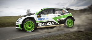 Jan Kopecký / Pavel Dresler, ŠKODA FABIA R5, ŠKODA Motorsport. Valašská Rally 2017
