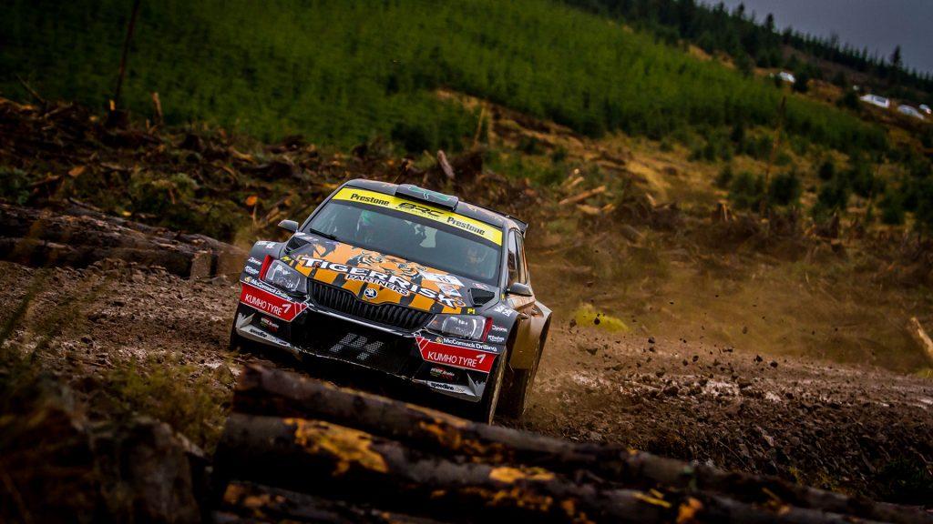 Martin McCormack / David Moynihan, ŠKODA FABIA R5, Tiger Risk Rally Team. Border Counties Rally 2017