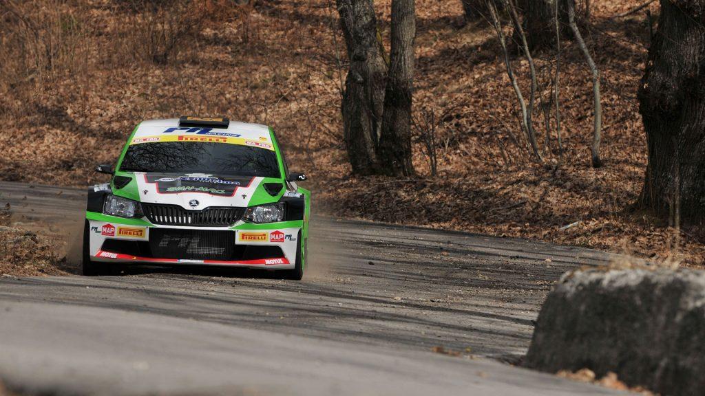 Alessandro Perico / Mauro Turati, ŠKODA FABIA R5, Team Autoservice Sport A.S.D. Rally del Ciocco e Valle del Serchio 2017 (Photo: ACI Sport)
