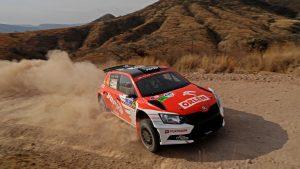 Hubert Ptaszek / Maciej Szczepaniak, ŠKODA FABIA R5, Orlen Team. Rally Guanajuato Mexico 2017