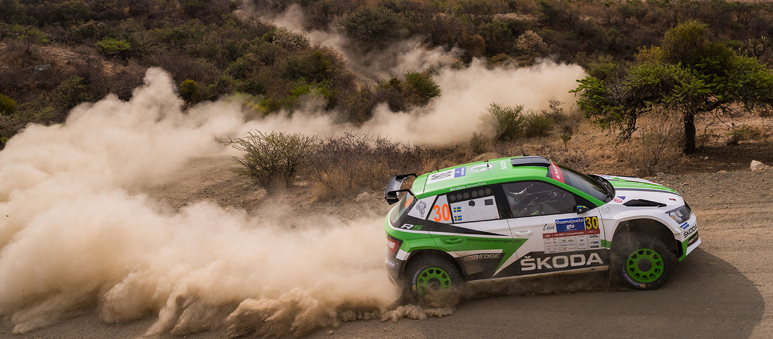 FOTO: ŠKODA Motorsport na Rally Guanajuato México 2017