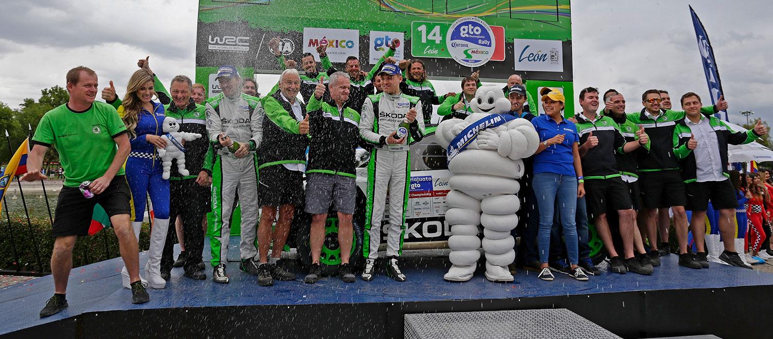 WRC Mexico: Tidemand vyhrál dramatický souboj a prodloužil vítěznou sérii značky ŠKODA