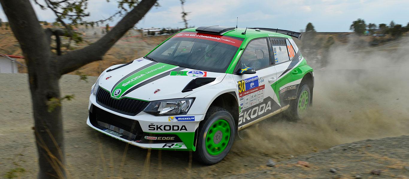 VIDEO: Pontus Tidemand triumfoval ve WRC2 podruhé v řadě