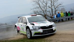 Andreas Aigner / Ilka Minor-Petrasko, ŠKODA FABIA R5, Eurosol Racing Team. Rebenland Rallye 2017