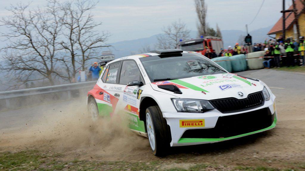Marijan Griebel / Stefan Kopczyk, ŠKODA FABIA R5, BRR Baumschlager Rallye & Racing Team. Rebenland Rallye 2017