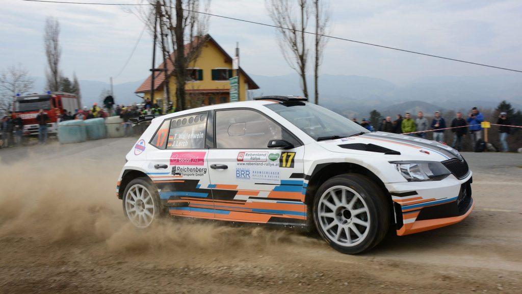 Thomas Wallenwein / Jennifer Lerch, ŠKODA FABIA R5, racepro motorsport. Rebenland Rallye 2017