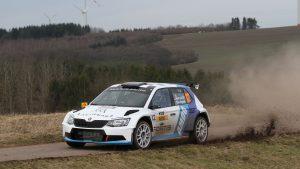 Albert von Thurn und Taxis / Bjorn Degandt, ŠKODA FABIA R5. Saarland-Pfalz Rallye 2017