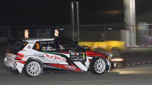 Benoît Allart / Kevin Fernandez, Bayard. Spa Rally 2017 (Photo: BRC Media)