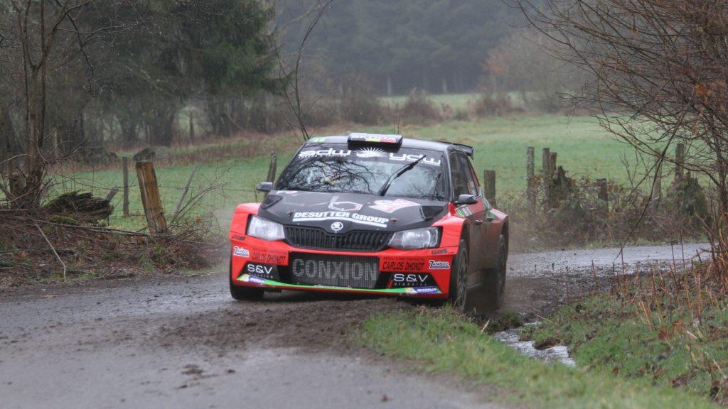 Vincent Verschueren / Veronique Hostens, Duindistel. Spa Rally 2017 (Photo: BRC Media)