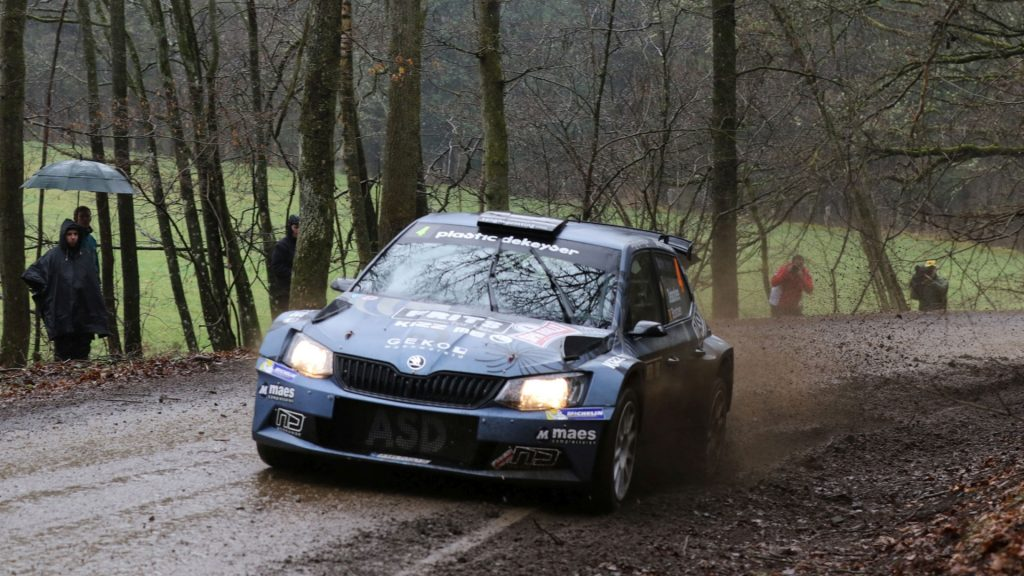 Melissa Debackere / Didier Bostoen, Duindistel. Spa Rally 2017 (Photo: BRC Media)